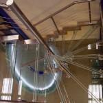 Лестничные ступени и ограждения из стекла 38