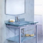 Мебель и раковины из стекла для ванной комнаты