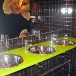 Мебель и раковины из стекла для ванной комнаты 18