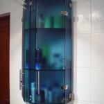 Мебель и раковины из стекла для ванной комнаты 20