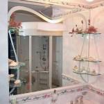Мебель и раковины из стекла для ванной комнаты 22