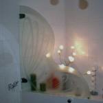 Мебель и раковины из стекла для ванной комнаты 23