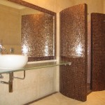Мебель и раковины из стекла для ванной комнаты 30