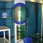Мебель и раковины из стекла для ванной комнаты 33
