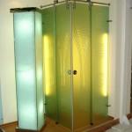Мебель и раковины из стекла для ванной комнаты 41