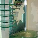 Мебель и раковины из стекла для ванной комнаты 42