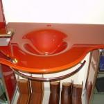 Мебель и раковины из стекла для ванной комнаты 44