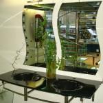 Мебель и раковины из стекла для ванной комнаты 45