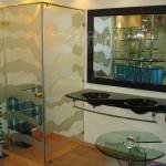 Мебель и раковины из стекла для ванной комнаты 46