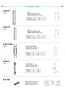 Ручки входных дверей