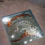 Стеклянные полы из триплекса и потолки 16