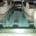 Стеклянные полы из триплекса и потолки